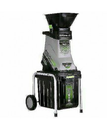 Earthwise GS70015 15 Amp Garden Corded Electric Chipper/Shredder with Collection Bin