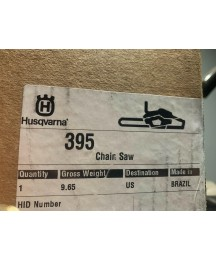 395xp Husqvarna Chainsaw With 20 Bar & Chain In Original Packaging